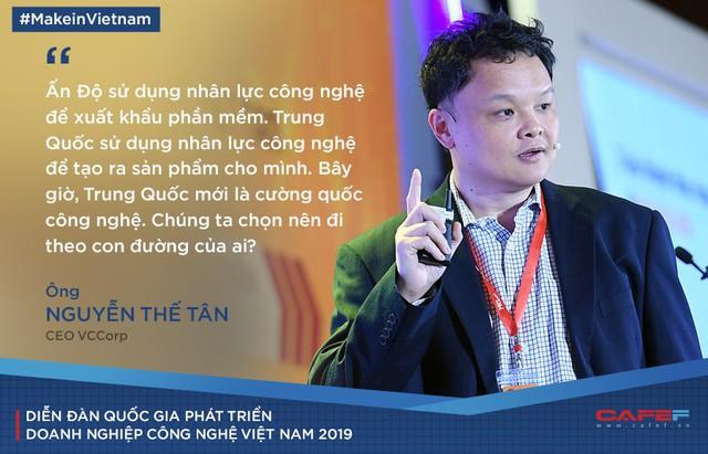 CEO VCCorp: Việt Nam có khả năng tạo ra những sản phẩm công nghệ hàng đầu không? Có khả năng, nhưng nhiều doanh nghiệp dù muốn lại không dám làm! - Ảnh 3.