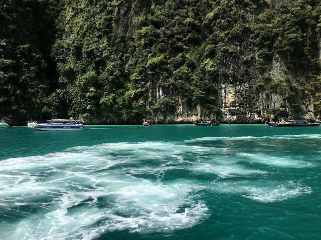 Vịnh biển nổi tiếng tại đảo Koh Phi Phi - Thái Lan cấm khách trong 2 năm tới để phục hồi hệ sinh thái - Ảnh 10.