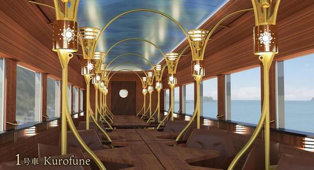 Nối tiếp truyền thống xe lửa, Nhật Bản cho ra đời chuyến tàu cực kỳ sang trọng, khám phá những khung cảnh chưa từng thấy của đất nước - Ảnh 1.