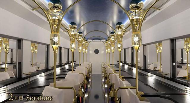 Nối tiếp truyền thống xe lửa, Nhật Bản cho ra đời chuyến tàu cực kỳ sang trọng, khám phá những khung cảnh chưa từng thấy của đất nước - Ảnh 3.
