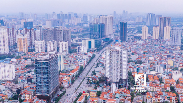 Nhìn từ trên cao, cả một rừng chung cư mọc lên ở khu trung tâm phía Tây Hà Nội - Ảnh 16.