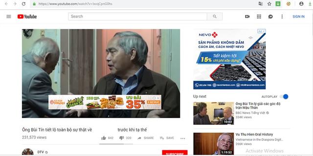 Bộ TT&TT yêu cầu hàng chục nhãn hàng lớn dừng quảng cáo trong các clip phản động trên YouTube - Ảnh 1.