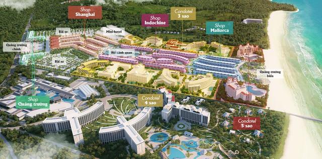 [Tiến Độ Dự Án] Tổ hợp mua sắm, condotel hơn 11.000 căn sát cạnh Casino Phú Quốc hiện giờ ra sao? - Ảnh 1.