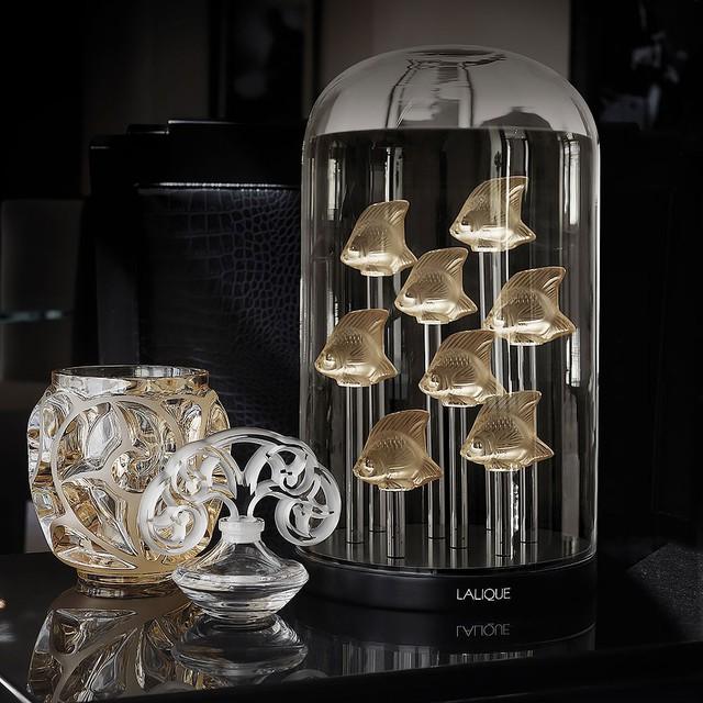 Giới thượng lưu Việt Nam choáng ngợp và thích thú trước những sản phẩm pha lê mỹ lệ của Lalique  - Ảnh 1.