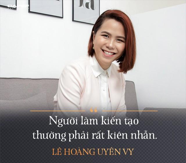 Lê Hoàng Uyên Vy: Từ cựu CEO Adayroi đến tham vọng tạo ra các startup tỷ USD - Ảnh 11.