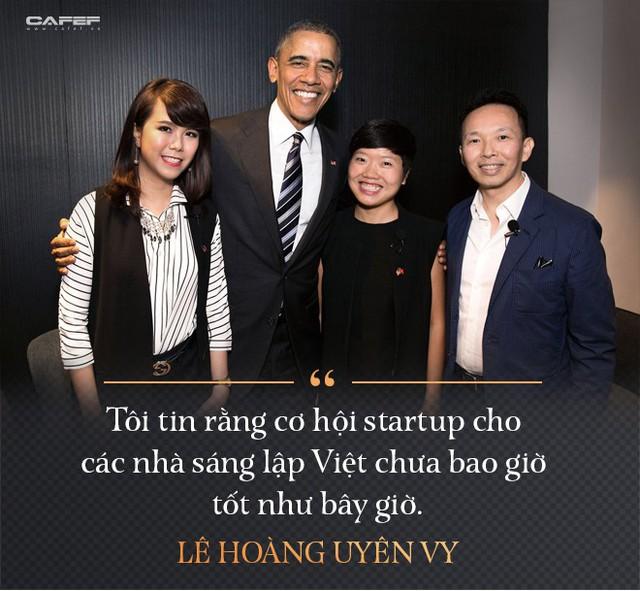 Lê Hoàng Uyên Vy: Từ cựu CEO Adayroi đến tham vọng tạo ra các startup tỷ USD - Ảnh 2.