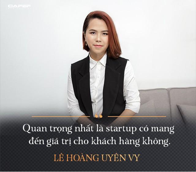 Lê Hoàng Uyên Vy: Từ cựu CEO Adayroi đến tham vọng tạo ra các startup tỷ USD - Ảnh 6.