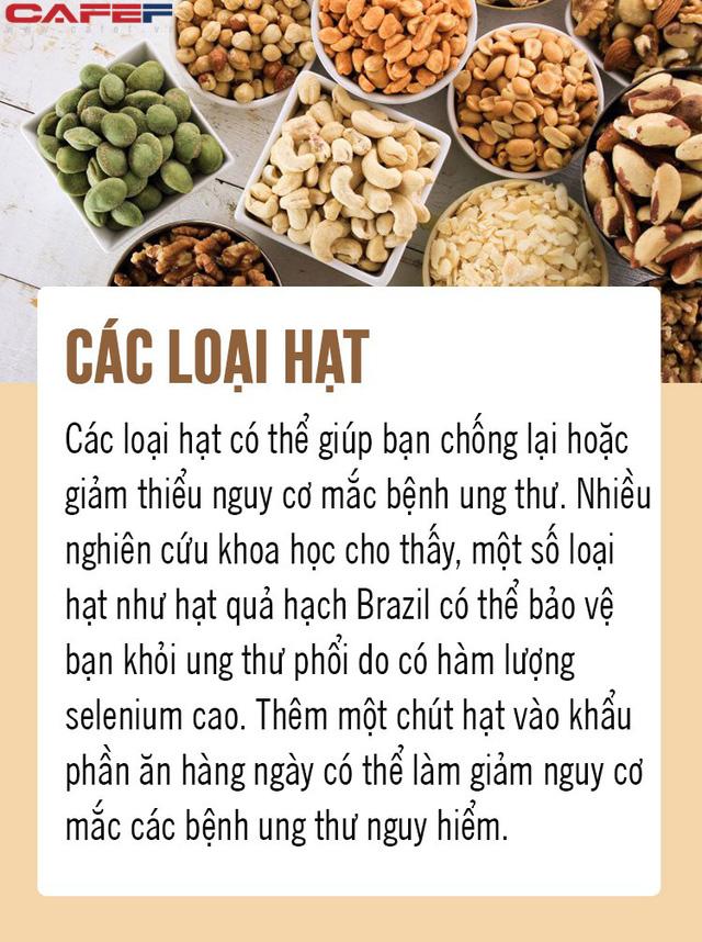 Chặn đứng ung thư từ 8 loại thực phẩm gia đình nào cũng có trong bếp: Số 5 là gia vị quen thuộc của người Việt! - Ảnh 4.