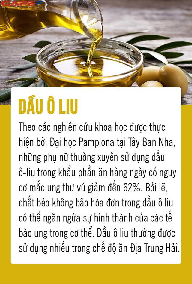 Chặn đứng ung thư từ 8 loại thực phẩm gia đình nào cũng có trong bếp: Số 5 là gia vị quen thuộc của người Việt! - Ảnh 5.