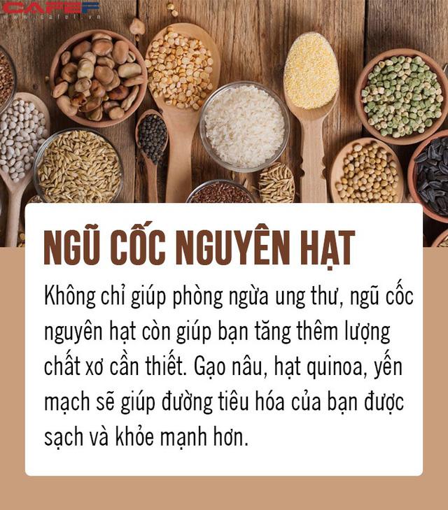 Chặn đứng ung thư từ 8 loại thực phẩm gia đình nào cũng có trong bếp: Số 5 là gia vị quen thuộc của người Việt! - Ảnh 8.