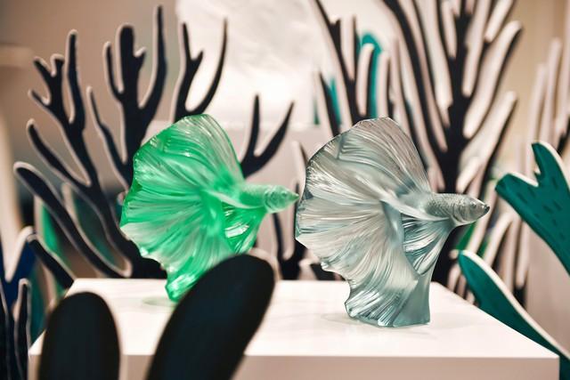 Giới thượng lưu Việt Nam choáng ngợp và thích thú trước những sản phẩm pha lê mỹ lệ của Lalique  - Ảnh 3.