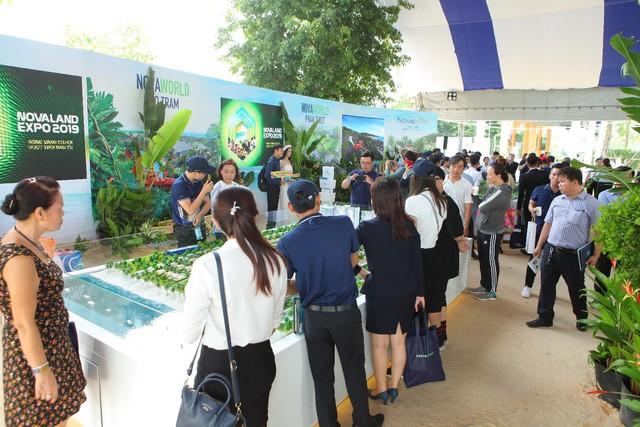 Novaland Expo 2019 hút khách tham quan trong ngày đầu khai mạc - Ảnh 3.