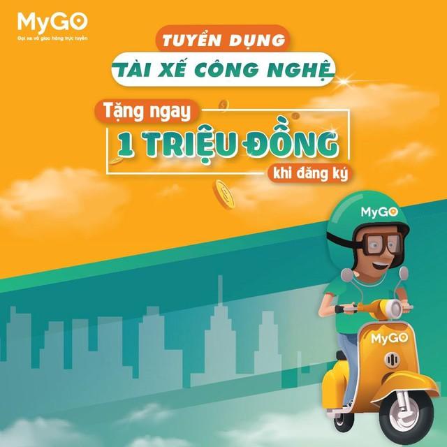 Viettel Post bất ngờ tung ứng dụng gọi xe MyGo, tương tự Grab, be, Go-Viet - Ảnh 1.