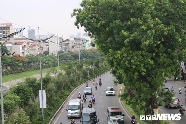 Ảnh: Đường Láng thay đổi bất ngờ, dân Thủ đô cứ ngỡ đang lạc vào đường phố Singapore - Ảnh 11.