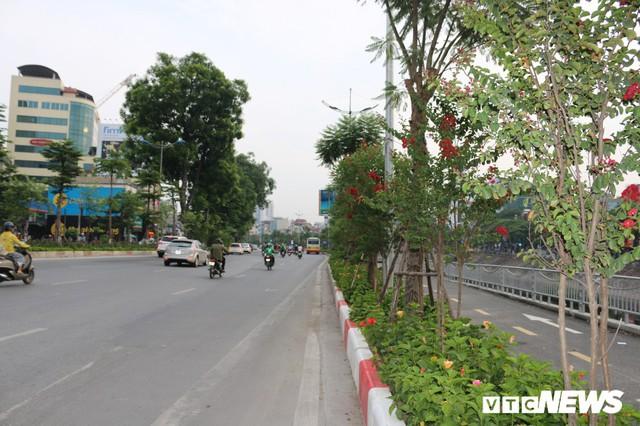 Ảnh: Đường Láng thay đổi bất ngờ, dân Thủ đô cứ ngỡ đang lạc vào đường phố Singapore - Ảnh 6.