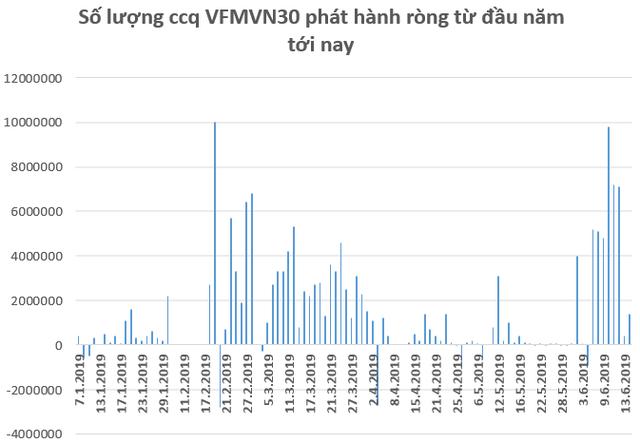 Hàng trăm tỷ đổ vào chứng khoán Việt Nam thông qua các quỹ ETF trong nửa đầu tháng 6 - Ảnh 2.