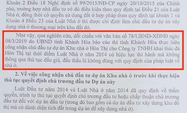 """Bộ Xây dựng """"tuýt còi"""" Khánh Hòa về dự án nhà ở hơn 30ha không đấu thầu - Ảnh 1."""