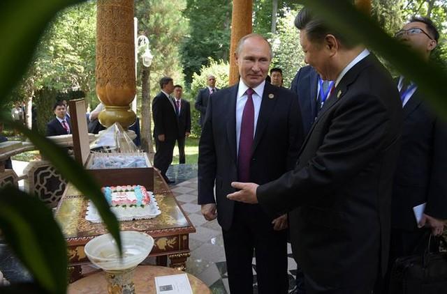 Chủ tịch Tập được Tổng thống Putin mời ăn kem mừng sinh nhật - Ảnh 1.