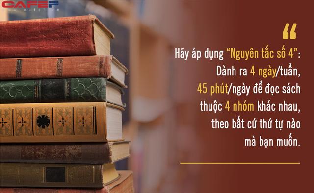 Biến đọc sách trở thành thói quen lâu dài bằng Nguyên tắc số 4 của tiến sĩ ĐH Yale: Làm theo không khó, muốn đổi đời nhất định phải thử qua một lần - Ảnh 2.