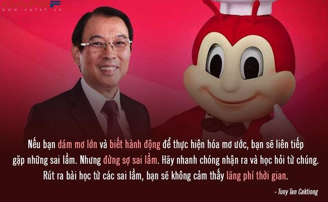 """Từ chàng trai bán kem đến """"ông trùm"""" chuỗi gà rán lớn nhất Philippines: Thành công nhờ ngây thơ tin lời mẹ, coi """"thất bại cũng chỉ là một loại học phí ở đời""""! - Ảnh 3."""