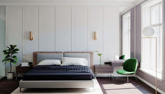 Mẫu phòng ngủ tuyệt đẹp cho căn hộ chung cư - Ảnh 4.