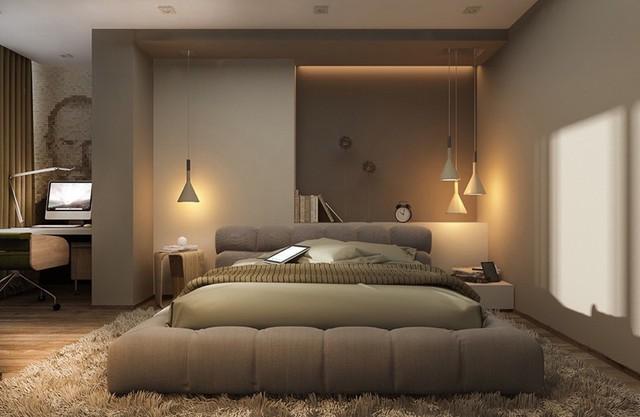 Mẫu phòng ngủ tuyệt đẹp cho căn hộ chung cư - Ảnh 10.
