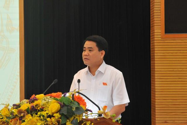 Chủ tịch Nguyễn Đức Chung: Hà Nội ưu tiên đầu tư phát triển hạ tầng - Ảnh 2.