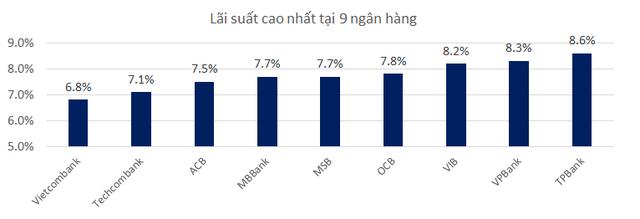 Lãi suất huy động của 9 ngân hàng áp dụng Basel II hiện nay ra sao? - Ảnh 2.