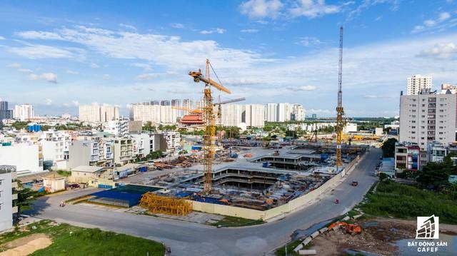 Cận cảnh dự án Raemian Galaxy City hơn 13.000 căn hộ nằm trong trung tâm Thủ Thiêm xây lụi - Ảnh 3.