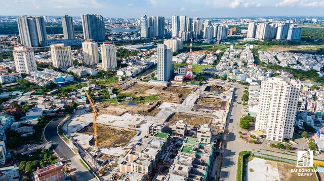 Cận cảnh dự án Raemian Galaxy City hơn 13.000 căn hộ nằm trong trung tâm Thủ Thiêm xây lụi - Ảnh 6.