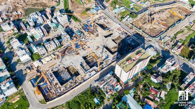 Cận cảnh dự án Raemian Galaxy City hơn 13.000 căn hộ nằm trong trung tâm Thủ Thiêm xây lụi - Ảnh 9.