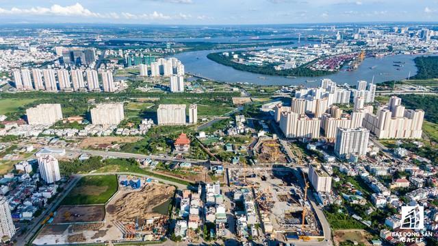 Cận cảnh dự án Raemian Galaxy City hơn 13.000 căn hộ nằm trong trung tâm Thủ Thiêm xây lụi - Ảnh 12.