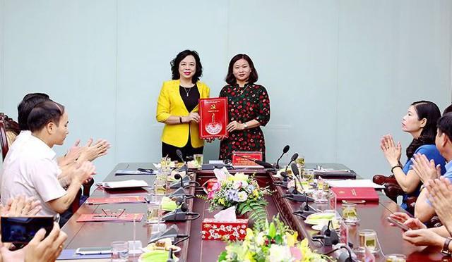 Bà Nguyễn Thị Tuyến làm Trưởng ban Dân vận Thành ủy Hà Nội - Ảnh 1.