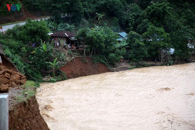 Ảnh: Huyện nghèo ở Lai Châu tan hoang sau cơn lũ đầu mùa - Ảnh 4.