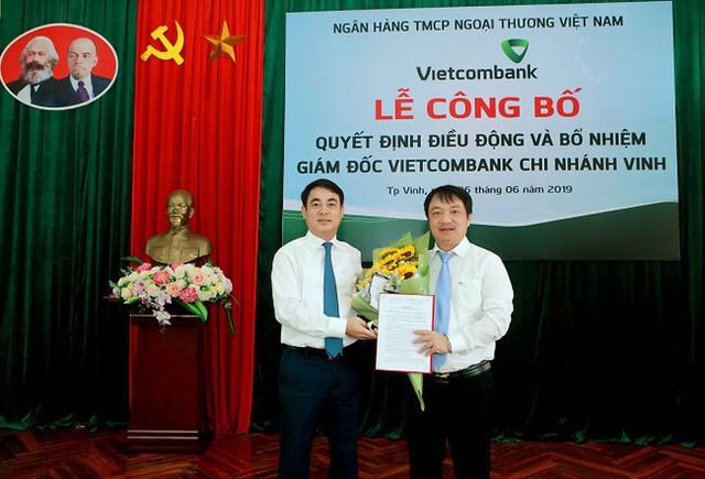 Vietcombank điều động, bổ nhiệm 3 giám đốc chi nhánh - Ảnh 1.