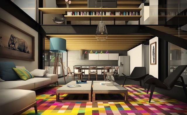 Những phòng khách sang trọng với cách thiết kế, trang trí độc đáo - Ảnh 9.