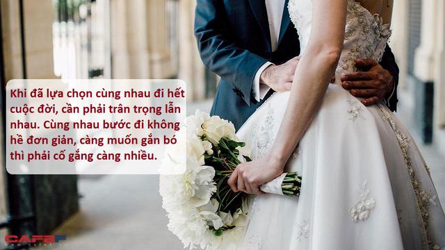 Khi yêu thề non hẹn biển, đám cưới xong thì chia ly vì không hợp tính cách: Nền tảng cơ bản của một gia đình hạnh phúc, gắn bó không phải sự giàu có hay tình yêu đẹp mà chính là 3 chữ đơn giản này - Ảnh 2.