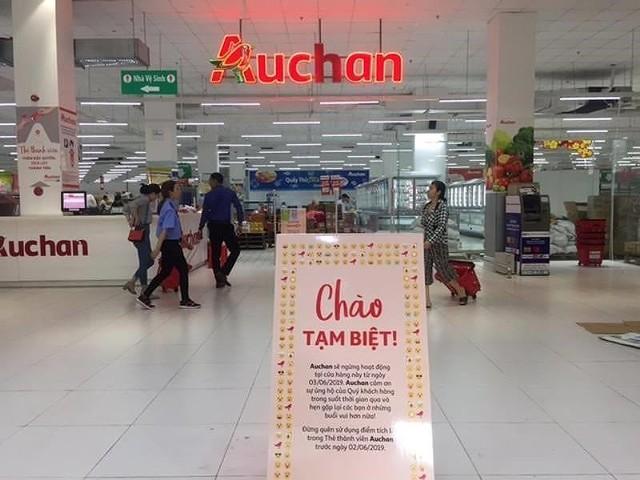 Auchan chính thức đóng 15 cửa hàng tại Việt Nam - Ảnh 1.