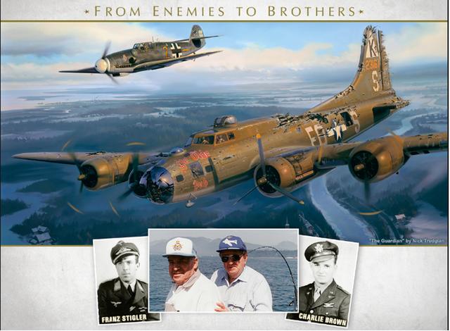 Thấy máy bay của địch bốc khói, phi công Đức bám theo và làm 1 việc không ai có thể ngờ - Ảnh 4.