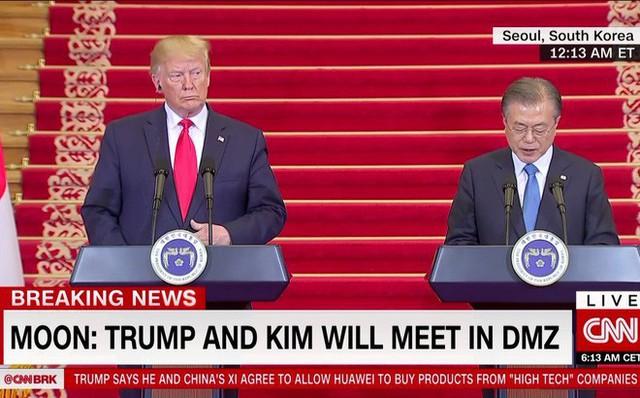 NÓNG: Ông Trump đi 20 bước lên lãnh thổ Triều Tiên, tạo nên LỊCH SỬ mới cho quan hệ Mỹ - Triều - Ảnh 21.