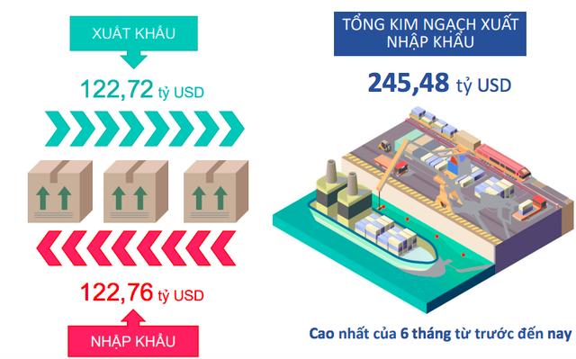 Bức tranh kinh tế Việt Nam 6 tháng năm 2019 qua các con số - Ảnh 6.
