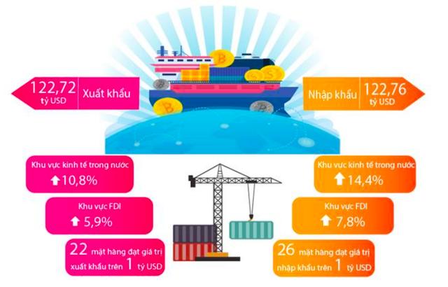 Bức tranh kinh tế Việt Nam 6 tháng năm 2019 qua các con số - Ảnh 7.