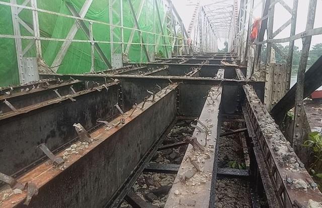Chính thức khai tử cây cầu sắt lịch sử 106 tuổi - Ảnh 4.