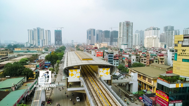 Sau 11 năm xây dựng, hình hài toàn tuyến metro đầu tiên của Việt Nam tại Hà Nội hiện nay như thế nào? - Ảnh 13.
