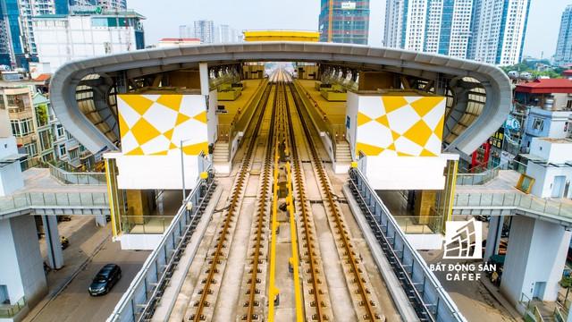 Sau 11 năm xây dựng, hình hài toàn tuyến metro đầu tiên của Việt Nam tại Hà Nội hiện nay như thế nào? - Ảnh 21.