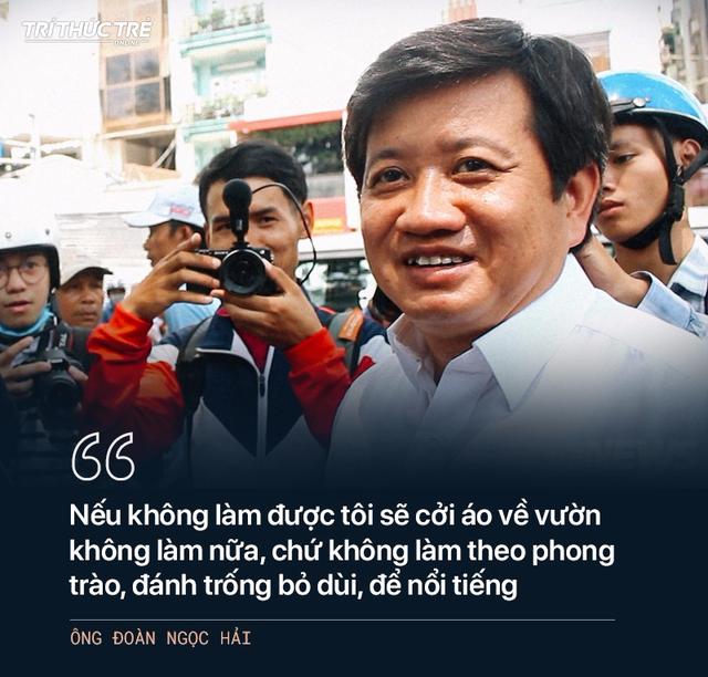 Ông Đoàn Ngọc Hải: Từ cuộc chiến dẹp vỉa hè năm 2017 đến 2 lần từ chức - Ảnh 1.