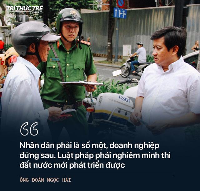 Ông Đoàn Ngọc Hải: Từ cuộc chiến dẹp vỉa hè năm 2017 đến 2 lần từ chức - Ảnh 2.