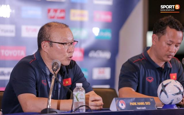 HLV Park Hang-seo: Việt Nam thắng Thái Lan không phải cột mốc lớn, đó là chuyện bình thường - Ảnh 1.