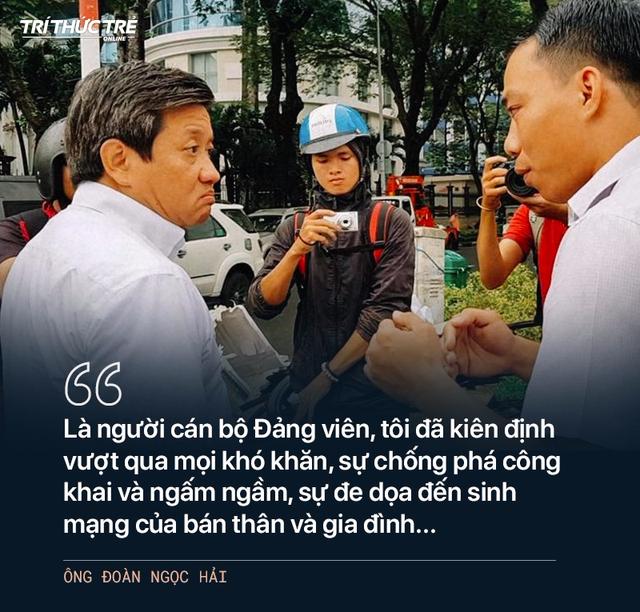 Ông Đoàn Ngọc Hải: Từ cuộc chiến dẹp vỉa hè năm 2017 đến 2 lần từ chức - Ảnh 11.