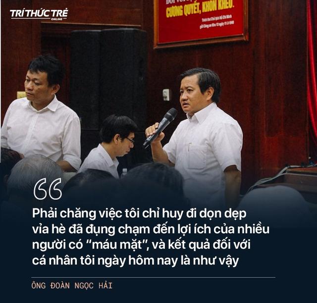 Ông Đoàn Ngọc Hải: Từ cuộc chiến dẹp vỉa hè năm 2017 đến 2 lần từ chức - Ảnh 14.